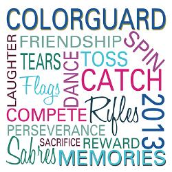 colorguard_2013_greeting_card